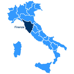 Cartina Italia Siena.Firenze E Siena